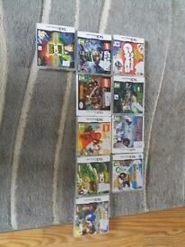 DS games and 3DS games for sale