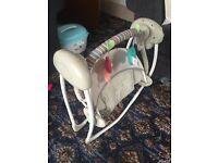Comfort & harmony baby swing