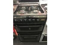 CANNON 50CM ALL GAS COOKER IN BLACK WIGH LID