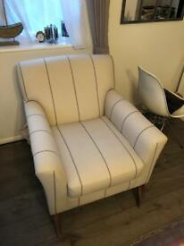 Beautiful hand made arm chair