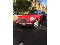 BMW MINI COOPER ONLY 60K MILES, FSH, FULL BLACK LEATHER, AC, BLUETOOTH, RECENT: CLUTCH,TYRES,BRAKES