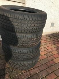 4 Continental Winter Contact 235/55 R17, Winter Tyres
