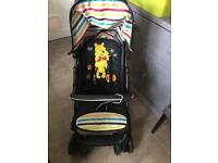 Purshchair, bassinet and car seat- travel system