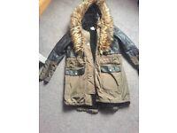 Ladies size 10 river island coat