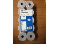 10x NCR Credit Card Rolls 2-Ply - £5