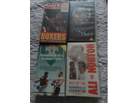 Boxing videos & misture of DVD movies
