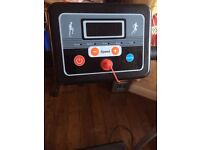 500w running machine cost 179 new only one year old barely used