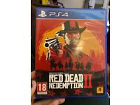 Red Dead Redemption 2 (PS4), like new
