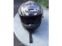 BRAND NEW Full Face Gold Standard Nitro Fibreglass Crash Helmet For Sale