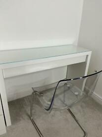 Malm Desk and Chair
