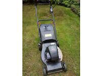Atco-Qualcast (R484 TR) Petrol lawnmower - Briggs & Stratton Quattro Engine (runs - spares/repairs)