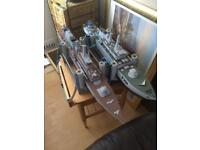 3 radio controlled boats. Navy ships and Norwegian rig tender