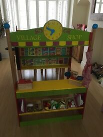 Gorgeous wooden play shop
