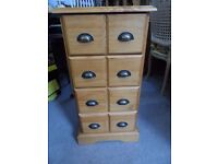 TALL NARROW SET OF DRAWERS