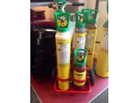 Oxy/Acet Portapak Cylinder Trolley