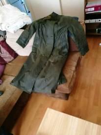 Barbour trench coat