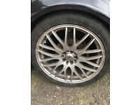 Alloy wheels from mk4 golf