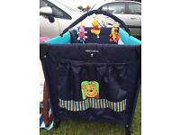 Like New Winnie the Pooh Baby/ Child Travel Cot