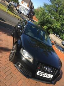 Audi A3 2.0 TDI S-Line 170 BHP 2009 (5 door) FULL LEATHER & SAT NAV