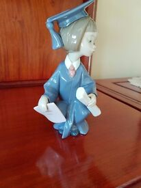 Lladro - Commencement and Going Forth - 2 lovely pieces - retired