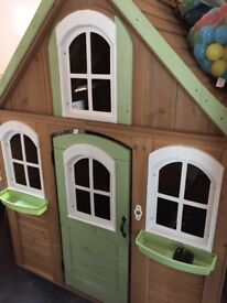 Adorable chidrens wooden playhouse