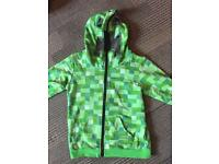 Boys Minecraft Hooded Top