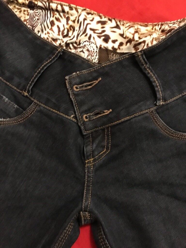 Blue denim jeans in nearly new condition