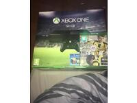 Xbox One with unopened FIFA 17