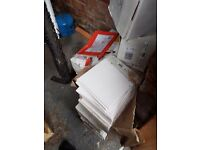 white cermaic tiles 15cmby15cm roughly plus 2000