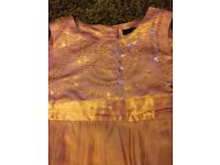 Age 2-3 year pink sequin party dress