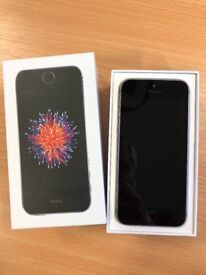 iPhone SE 16GB SPACE GREY on Tesco mobile