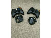 Official Xbox 360 wireless controller with receiver for PC windows use