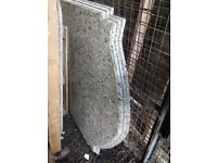 50mm Large Granite Island Worktop