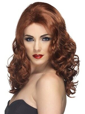 Wig Ginger Long Wavy for Women Costume Carnival Halloween 42145](Halloween Costumes For Gingers)