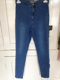 Topshop Joni jeans W30 L30