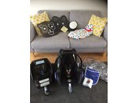 Maxi-cosi CabrioFix Car seat package for sale
