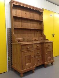 Antique pine Welsh dresser sideboard armoire bookcase furniture Laura Ashley John Lewis habitat loaf