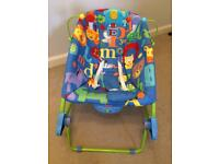 Fisher Price rocker vibrating chair