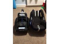 Maxi cosy car seat & isofix