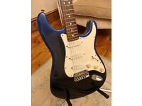 1995 Fender 'Strat Plus' American Stratocaster Guitar – Blue Pearl Burst - Rare - *Courier Delivery*