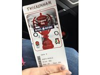 England vs Italy Rugby Single Ticket, I have one spare ticket, face value £63 North Middle Stand