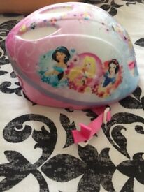 Girls Disney princess helmet