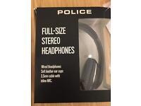 Full size stereo headphones