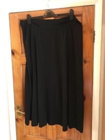 Lovely Black skirt plus size 22 from Simply Be