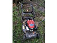 Self propelled Mountfield lawn mower Honda engine