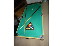 MUILTI GAME TABLE, GAMES TABLE, POOL, FOOTBALL TABLE