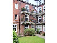 2 bed furnished Headingley flat, Av. 1.9.16