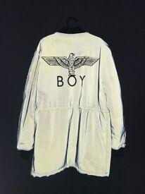 One off BOY London MA1 reflective jacket Medium