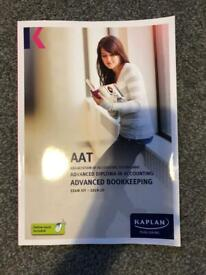 KAPLAN AAT Level 3 Advanced Bookkeeping Exam Kit