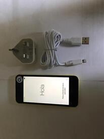 iPhone 5c 8gb On 02